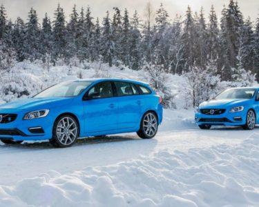 Volvo conduccion nieve
