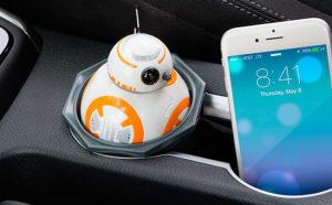 Cargador USB droide BB-8 de Think Geek