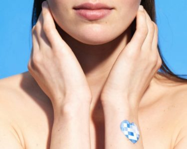 new UV patch that L'Oreal just introduced at CES