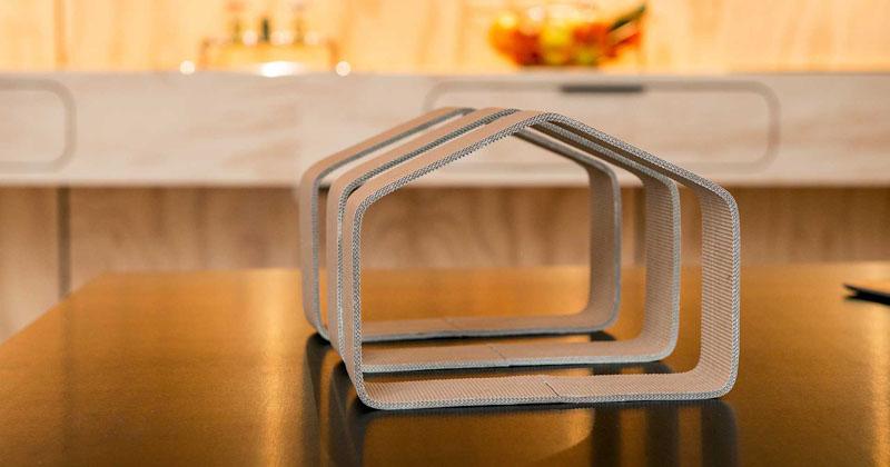 Viviendas construidas con cartón que son sostenibles y muy duraderas