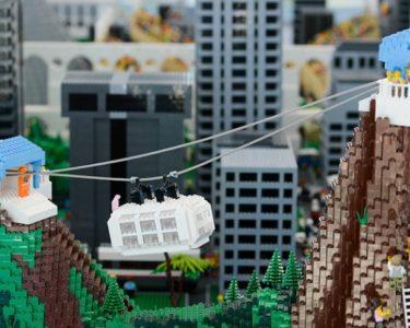 Rio de Janeiro - Parceria entre a prefeitura do Rio, a Dinamarca e a LEGO, líder mundial em brinquedos de montar, apresenta maquete de LEGO da cidade do Rio. (Tânia Rêgo/Agência Brasil)