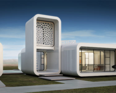La primera oficina funcional impresa en 3D
