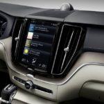 The new Volvo XC60 Sensus centre display updates