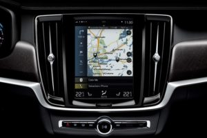 Updated Sensus Navigation in V90 Cross Country