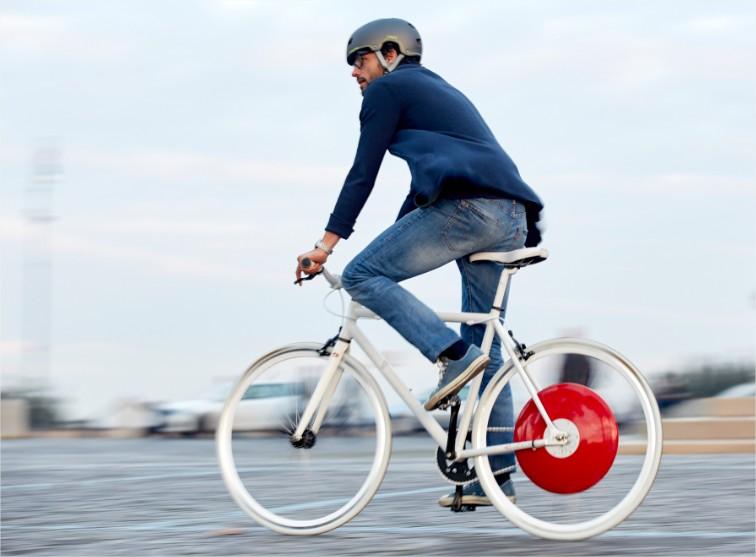Bicicleta híbrida eléctrica e inteligente