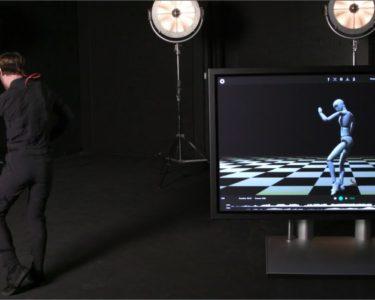 Motion capture solo con un traje inteligente