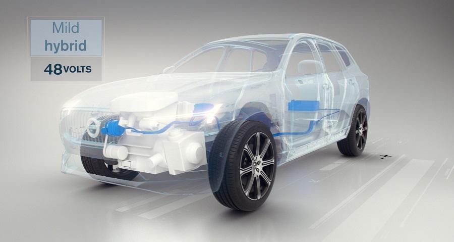 Volvo Cars motor eléctrico
