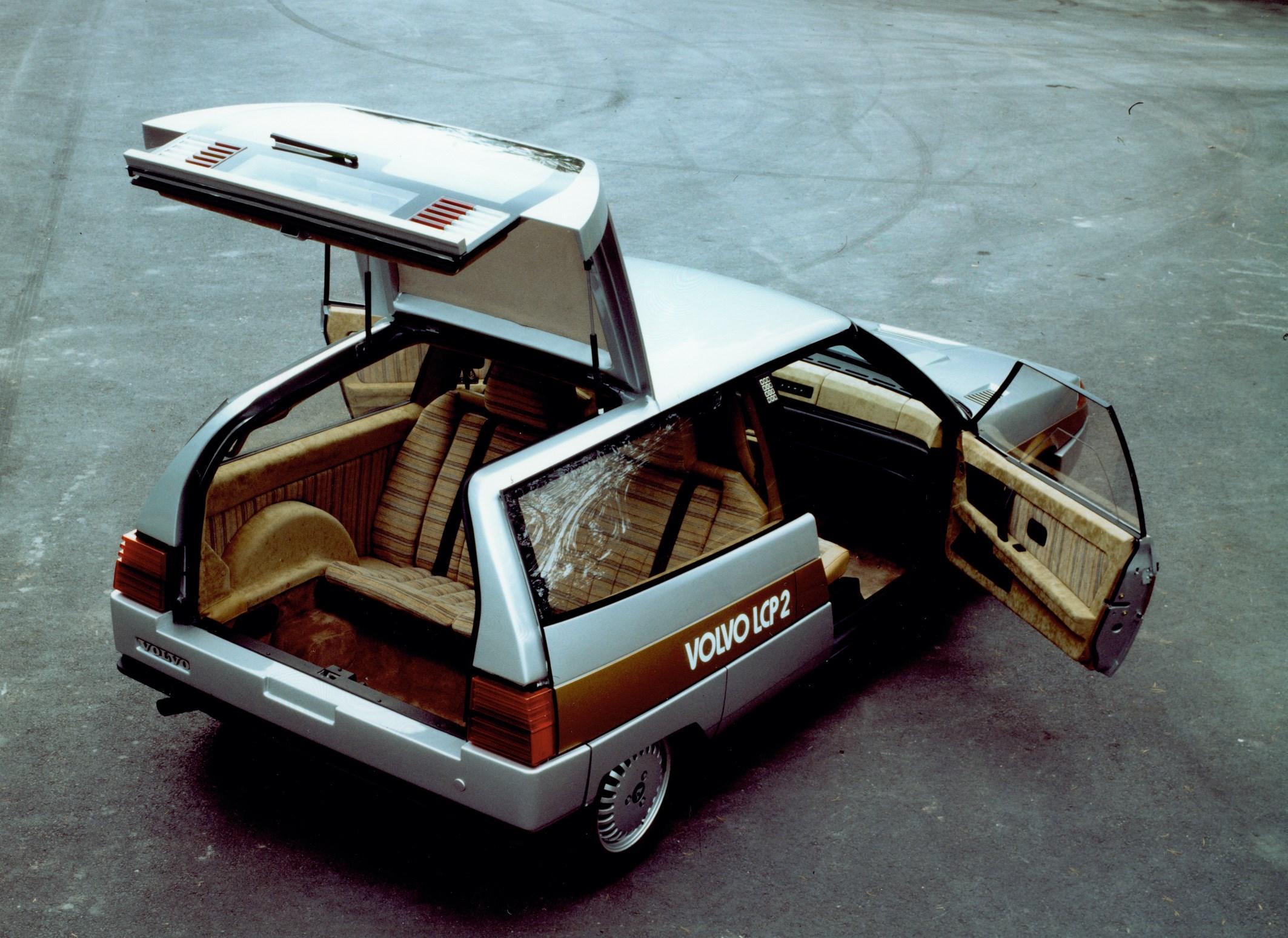 Volvo LCP 2000, el prototipo de 1983 que anticipó el futuro