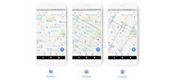 Nueva interfaz de Google Maps