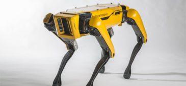 Spot Mini de Boston Dynamics abre puertas