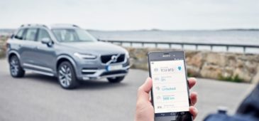 Volvo On Call car sharing