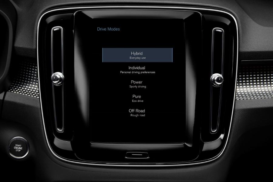 Volvo XC40 coche híbrido