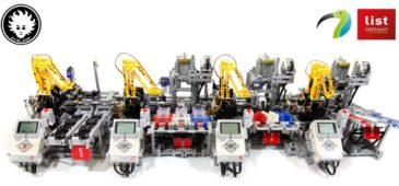 LEGO car factory daniele benedettelli