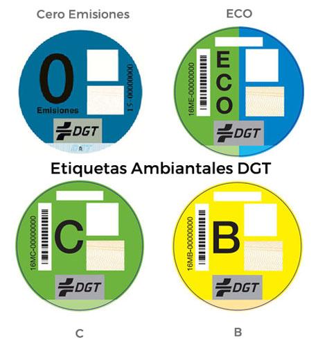 Distintivo cero emisiones DGT