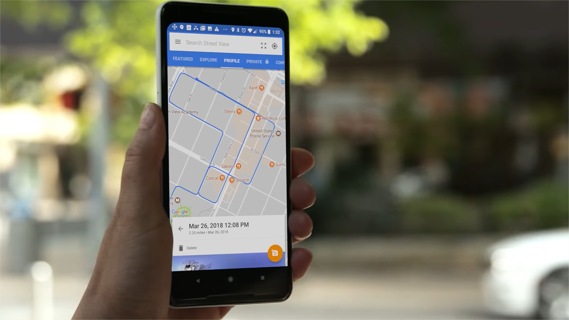 Guiarte con Google Maps y Realidad Aumentada