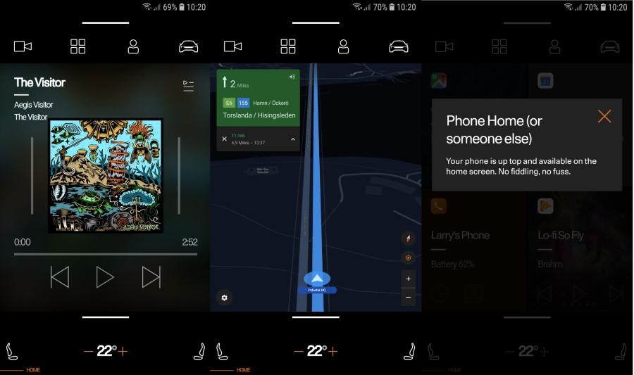 Android nativo en el coche