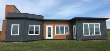 casa sostenible a prueba de huracanes