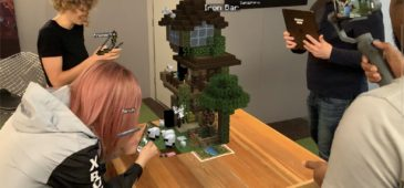 minecraft earth realidad aumentada