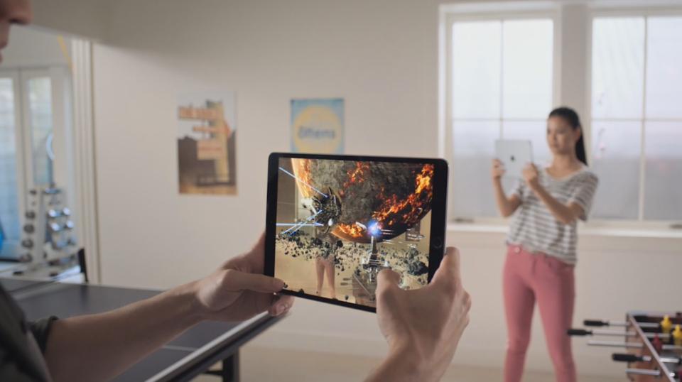Gafas de realidad aumentada: Apple