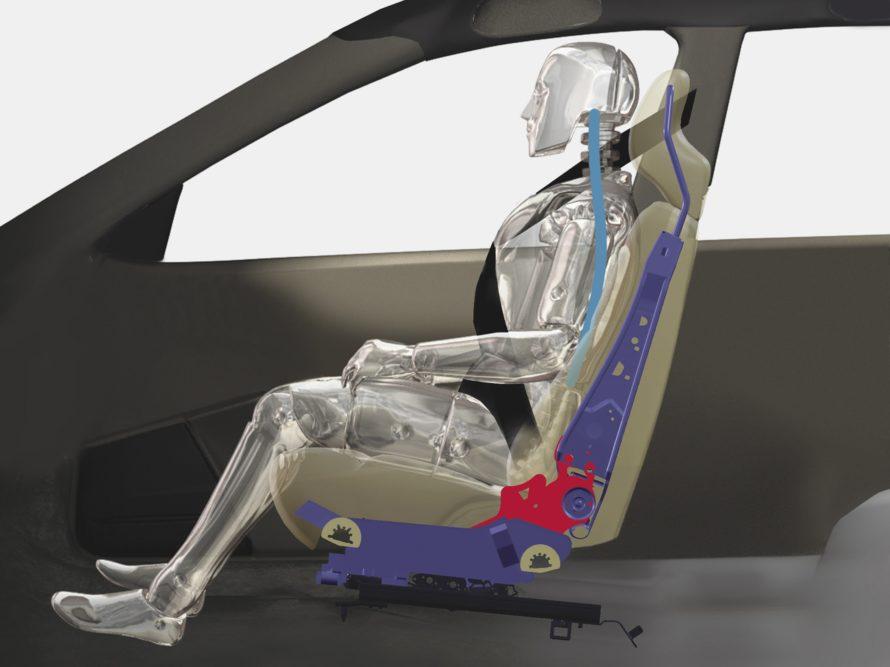 Elementos de seguridad pasiva - cinturón de seguridad