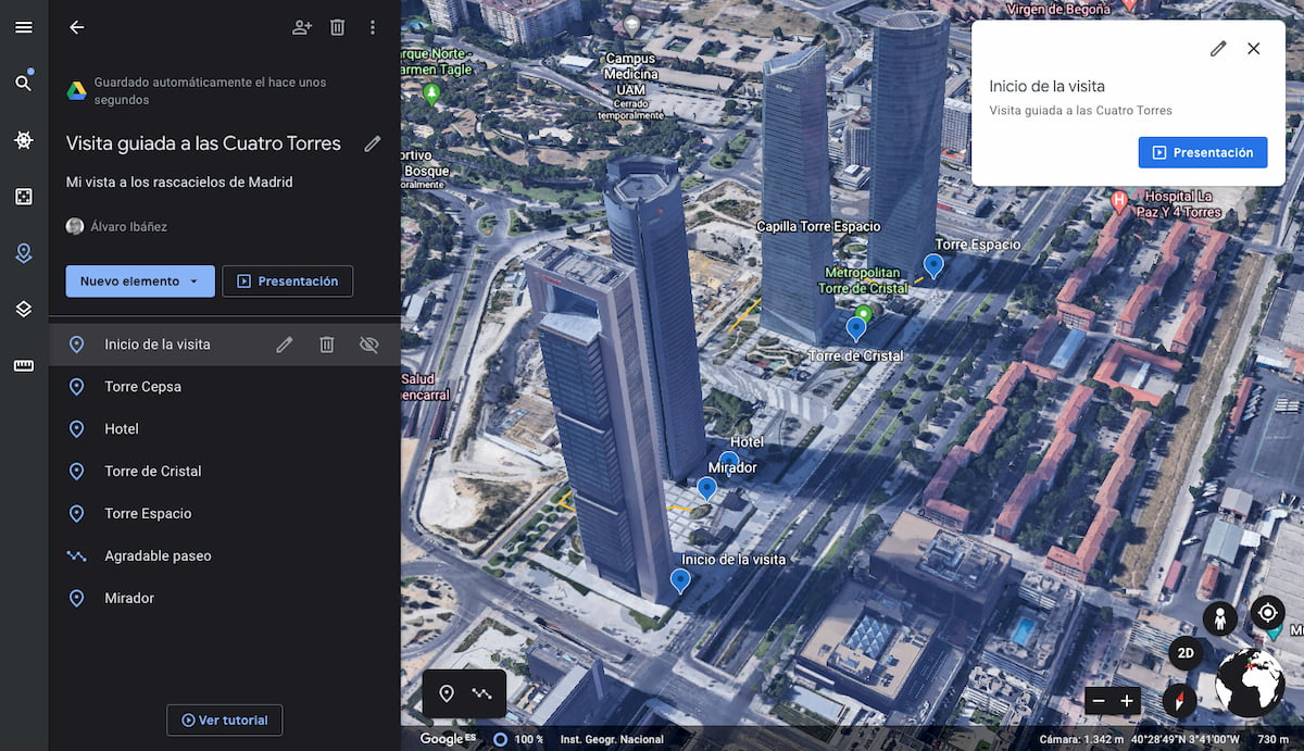 Google Earth Tour