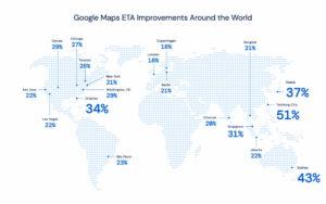 IA mejora predicciones tráfico Google Maps