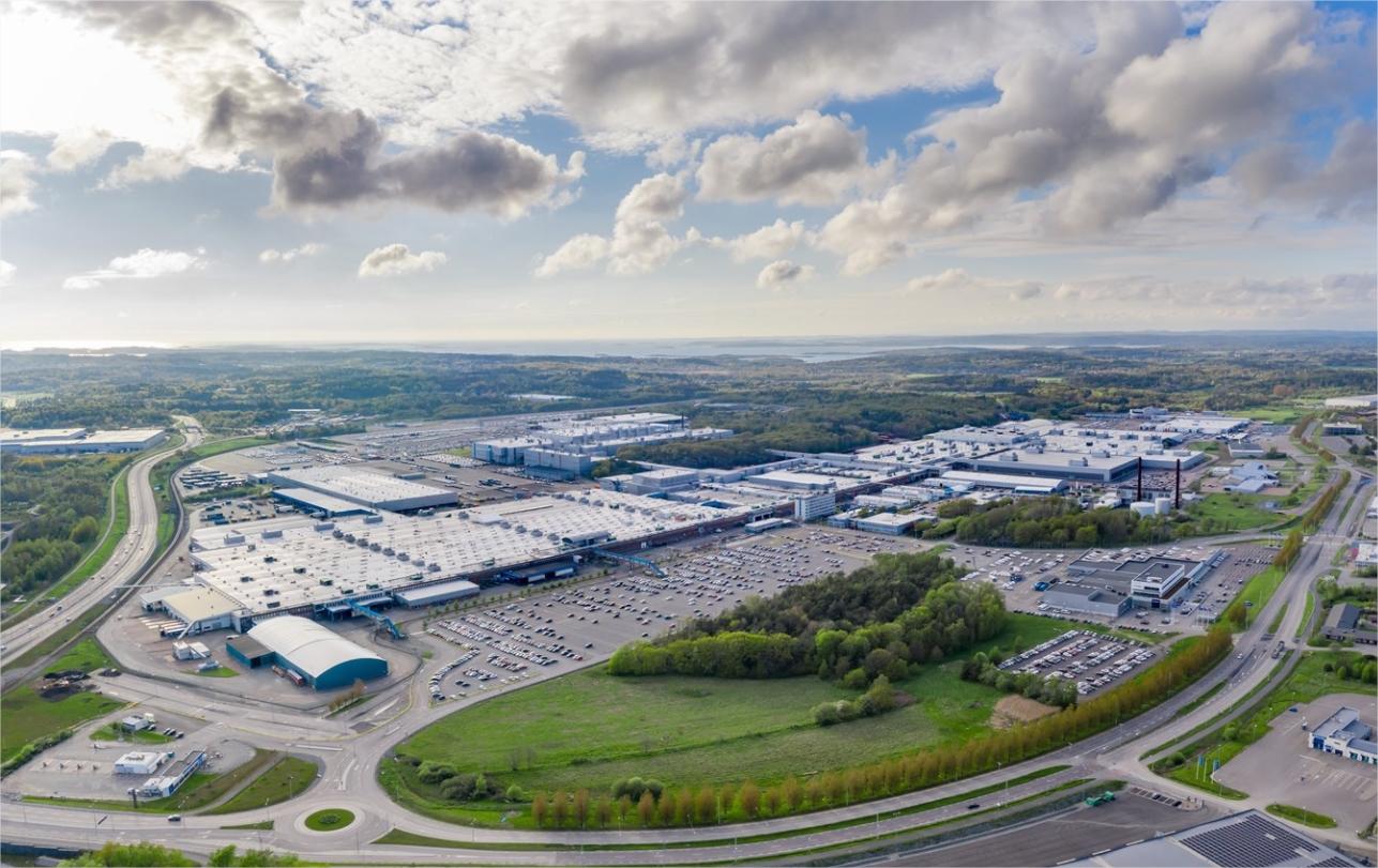 Volvo - planta automóviles Torslanda