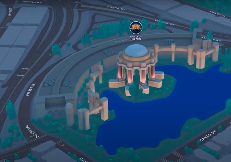 mapas de navegación para iOS 15